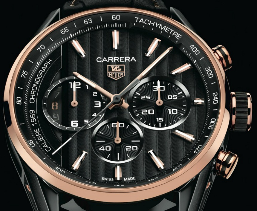 e37d1adf4fef TAG Heuer Debuts Replica Watches With Black   Gold